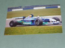 "SAUBER F1 2001 Massa at speed Silverstone 6x4"" photo"